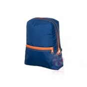 Blue + Orange Small Backpack