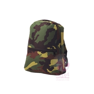 Camo Small Backpack