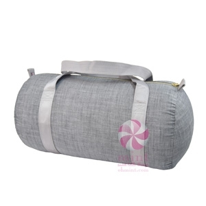 Grey Chambray Duffel