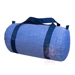 Navy Chambray Duffel