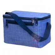 Navy Chambray Lunch Box