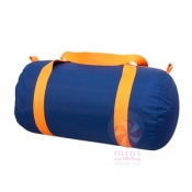 Blue + Orange Duffel
