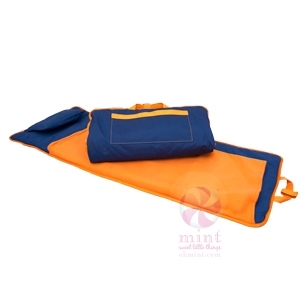 Blue + Orange Nap Mat