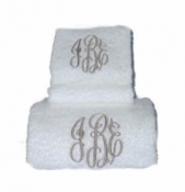 Monogrammed Bath Towel