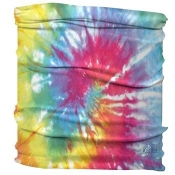 Half Headband Multi Color Tie Dye