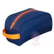 Navy / Orange Traveler Bag
