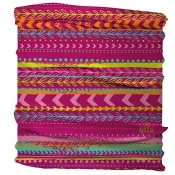 Half Headband Pink Multi Stripes