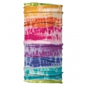 Wide Headband Rainbow Tie Dye